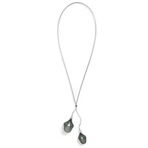 VLUM - Pendentif Pendentif Pétale green and lagon black