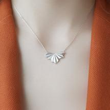 Alice_Barnes_silver_pleated_fan_necklace_art_deco_styled_handmade_jewellery_sterling_silver