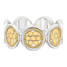 Anna_Beck_handmade_jewellery_ring_sterling_silver_gold_plating_beaded_dotted_spotted_multi_disc