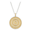 Anna_Beck_handmade_jewellery_necklace_large_medallion_gold_plating_sterling_silver_reversible