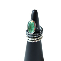 Tina_Kotsoni_handmade_jewellery_ring_green_topaz_swirl_oxisided_silver_sterling_silver_statement