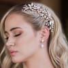 En_Vogue_hair_clip_rose_gold_flowers_leafy_bridal_hair_accessories_Ozzy