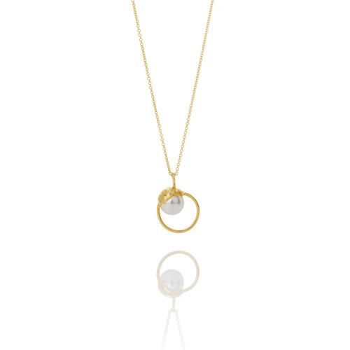 Aurum_Iceland_SAND_collection_gold_plating_sterling_silver_Swarovski_pearl_handmade