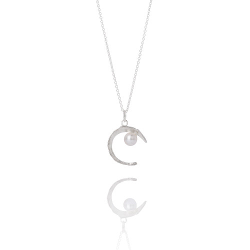 Aurum_Jewellery_Iceland_sterling_silver_Swarovski_pearls_necklace