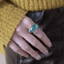 handmade_ring_jewellery_Efstathia_Greece_sterling_silver_gold_vermeil_gold_plating_gemstone_blue_turquoise_statement