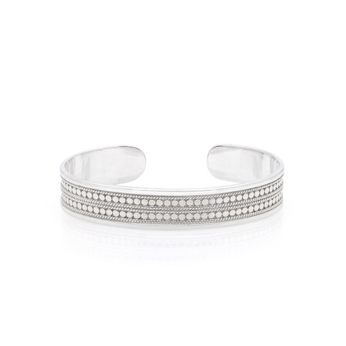 Anna Beck - Sterling Silver Beaded Bangle