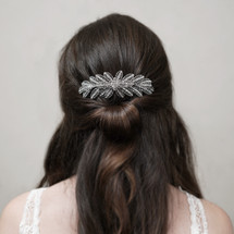 En_Vogue_art_deco_flower_hair_comb_statement_vintage_rustic_bridal_hair_accessories_wedding_accessories