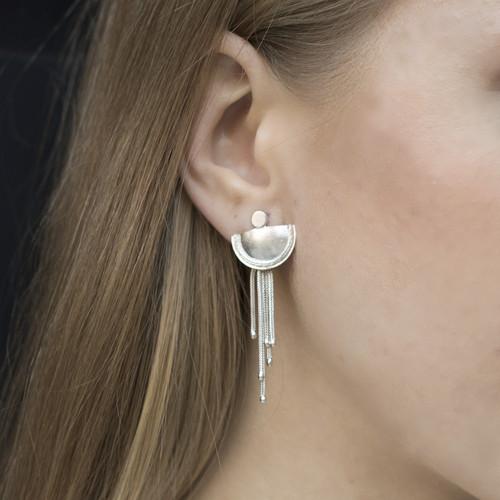 handmade_ jewellery_sterling silver_statement_earrings_chains_Inês Telles_Beltia