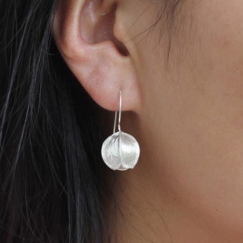 sterling_silver_small_flower_bud_earrings_nature_natural_drop_dangle_handmade_earrings