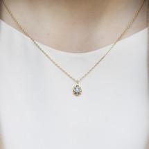 sterling_silver_gold_plating_Australian_opal_necklace_delicate_handmade_Japan_small_jewellery_dainty_jewellery