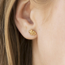 Mounir_London_sterling_silver_gold_plating_cloud_earrings_small_dainty_handmade_ball_cluster_studs