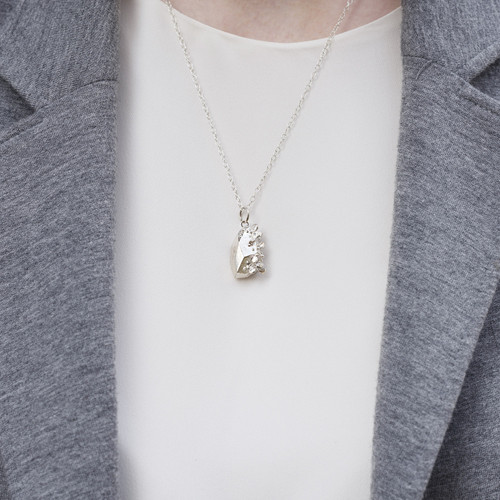 Holly_Suzanna_Clifford_sterling_silver_handmade_jewellery_nugget_chunky_necklace