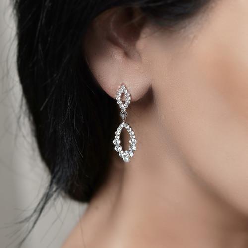 bridal_jewellery_bridal_earrings_elegant_classic_leafy_bridesmaids_earrings_crystal_diamante