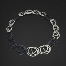 Deco_Echo_handmade_jewellery_poland_sterling_silver_oxidised_sterling_silver_art_deco_rose_jewellery_set_necklace
