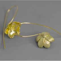 earrings_long_statement_sterling_silver_gold_plating_jasmine_flower_nature_inspired_botanic_garden
