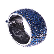 Simon_Harrison_jewellery_statement_chunky_sparkly_blue_bangle_bracelet_trendy_stylish_fashionable_costume_jewellery