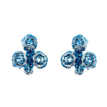 Simon_Harrison_jewellery_earrings_studs_statement_blue_Swarovski_crystals_Coral_collection_chunky