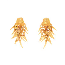 Simon_Harrison_jewellery_Dionysus_bear_collection_drop_earrings_statement_bear_claws_gold_stainless_steel