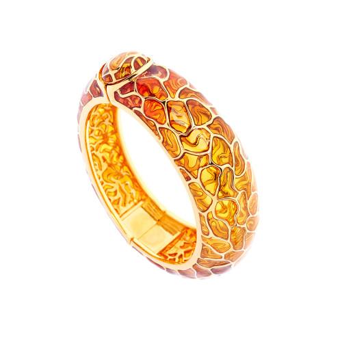 Simon_Harrison_jewellery_London_bracelet_bangle_fashion_jewellery_statement_chunky_gold_see_through_Transformation_collection_yellow