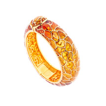 Simon_Harrison_jewellery_London_bracelet_bangle_fashion_jewellery_statement_chunky_gold_see_through_Transformation_collection_yellow