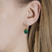 Mounir_London_handmade_jewellery_sterling_silver_gold_plated_earrings_drop_dangle_green_onyx_teardrop_stones