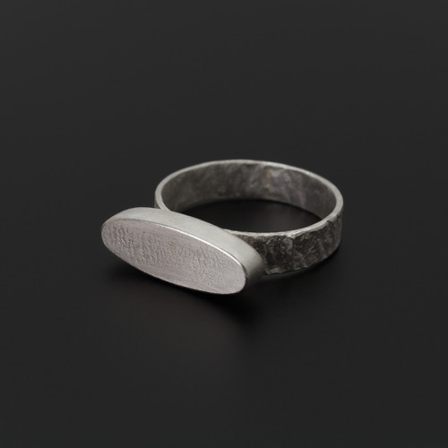 Deco_Echo_Poland_handmade_jewellery_sterling_silver_ring_chunky_oval