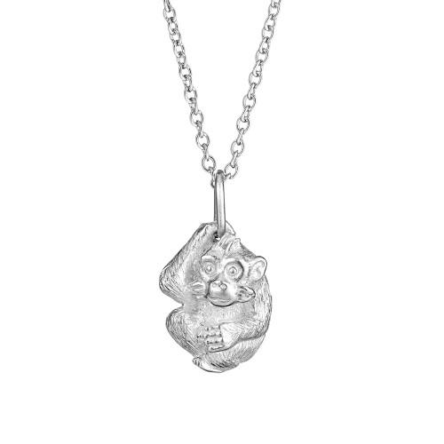 Simon_Harrison_handmade_jewellery_necklace_monkey_pendant_sterling_silver_Chinese_zodiac_Chinese_New_Year_London_designer