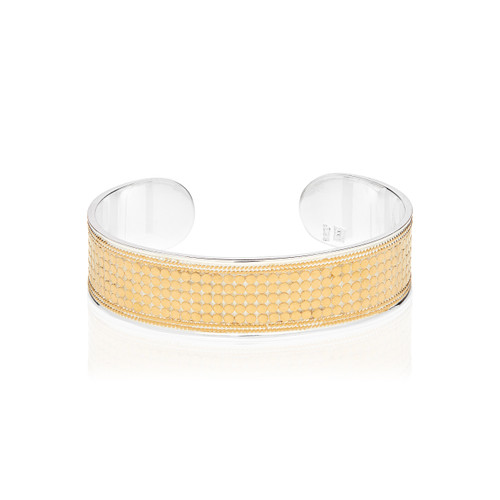 Anna_Beck_handmade_jewellery_made_in_Bali_bracelet_bangle_cuff_gold_plated_sterling_silver_dotted