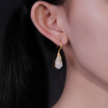 Amira_S_handmade_jewellery_earrings_drop_gold_plating_sterling_silver_white_jade_stone_drooping_flower_floral