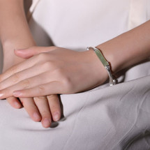 Amira_S_bracelet_bangle_sterling_silver_light_green_dark_green_jade_stone_bamboo_inspired_handmade