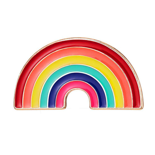 Rainbow4NHS Enamel Rainbow Brooch Pin (Limited Edition  ) NHS charity Support U.K. NHS  Hope