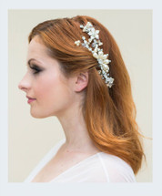 BEATRIX ENTWINED BEADED BRANCH COMB