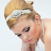 harriet diamante side headband bridal wedding statement headpiece