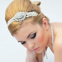 harriet diamante side headband bridal wedding statement headpiece