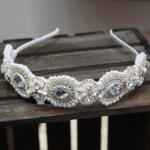 'Jolene' Vintage Inspired Full Headband