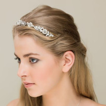 'Lily' Flower of Elegance Slim Hair Band
