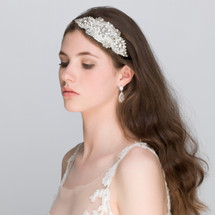 'Sandra' Art Deco Side Headband