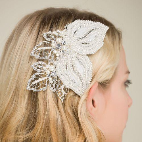 'Hannah' Winter Garden Exquisite Hair Clip