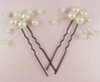 Philomena Vines of Love Flower Pearl Bridal Hair Pins