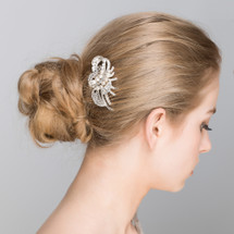 'Shelley' Nature Inspired Bridal Hair Comb