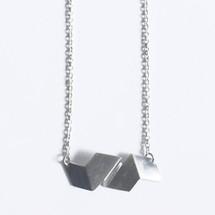 'GABARIT' Sterling Silver Choker Necklace (GN3)
