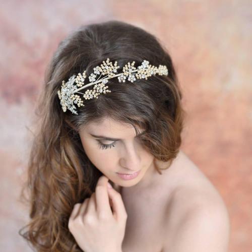 'Ariella' Bridal Headpiece Modelling Shoot