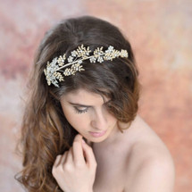 'Ariella' Bridal Headpiece Modelling Shoot
