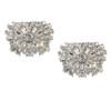 'London' Classic Diamante Bridal Wedding Shoe Clips