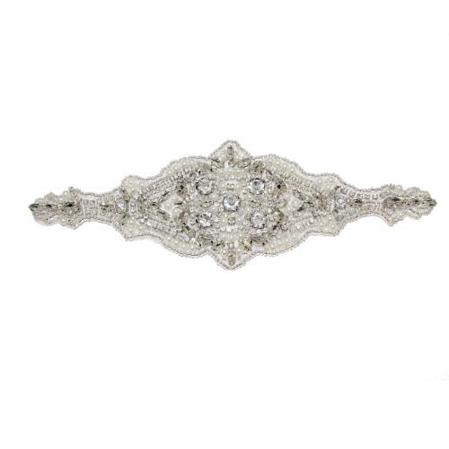 'Gisele' Bridal Belt Applicate