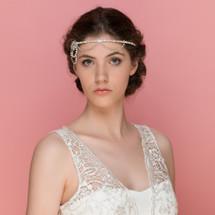 art deco Forehead piece diamante vintage 1920s Lily Luna