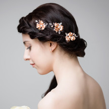 rose_gold_orchid_flower_large_wedding_hair_hair_pin_bridal_pearl