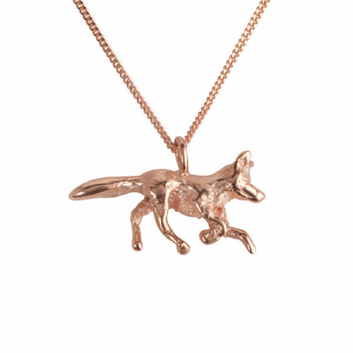 Rose Gold Fox Trot Necklace