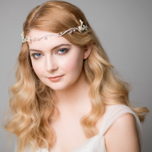 'Finn' Delicate Wavy Forehead Band