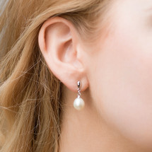 'Cydney' Freshwater Pearl Earrings